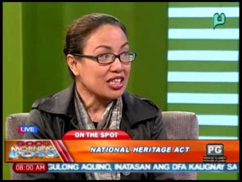 GMB: Panayam kay Atty. Trixie Angeles, kaugnay sa National Arts Month [02/26/14]