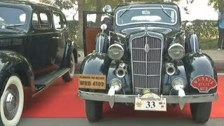 Automobile enthusiasts flock to vintage car rally in Delhi - TIMESOFINDIACHANNEL