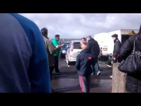 Gypsy Fights 2014 Fair Play On Market Carpark