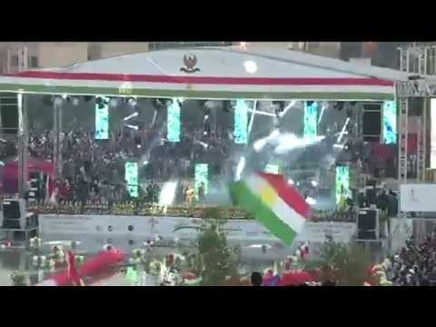 HELLY LUV PERFORMANCE AT THE ERBIL NEWROZ 2014 FESTIVAL / Helly Luv la ahange newrozi parke shanadar