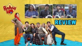 Badhaai Ho Public Review | Ayushmann's Pregnant mom gets a Thumbs Up - IANSLIVE