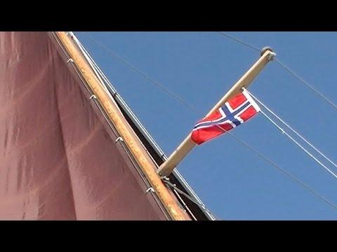 Thorfinn segelt - nach Norwegen, Ostsee segeln Sommer 2014