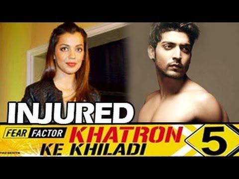 Gurmeet Choudhary & Mughda Godse BADLY INJURED on Khatron ke Khiladi 5!