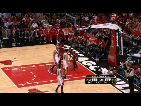 Udonis Haslem Rises Up to Throw Down