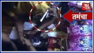 लंच ब्रेक: सोनीपत की एक दुकान को बदमाशों ने तमंचे के दम पर दिनदहाड़े लूटा. - AAJTAKTV