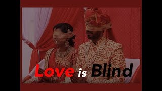 Unique! Blindfolded, Pune techie couple gets married at ashram for visually impaired elderly women - TIMESOFINDIACHANNEL