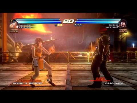 Tekken Tag Tournament 2 - [Medium - Arcade Battle] - Xiaoyu & Alisa Playthrough 1/2