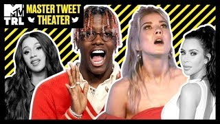 From Lil Yachty To Meghan Rienks - These Celebs Do the Best Impressions | Master Tweet Theater 🎭 - MTV