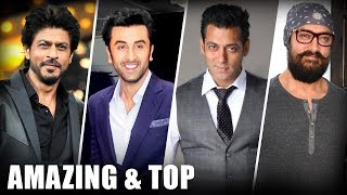 AMAZING & Top Moments Of Talking Films 2017 | SRK | Ranbir | Salman | Aamir - HUNGAMA
