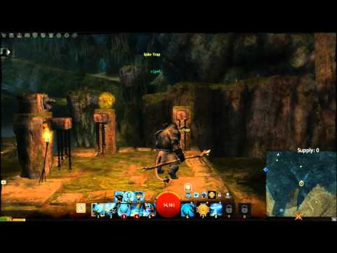 Guild Wars 2 - Eternal Battlegrounds jumping puzzle