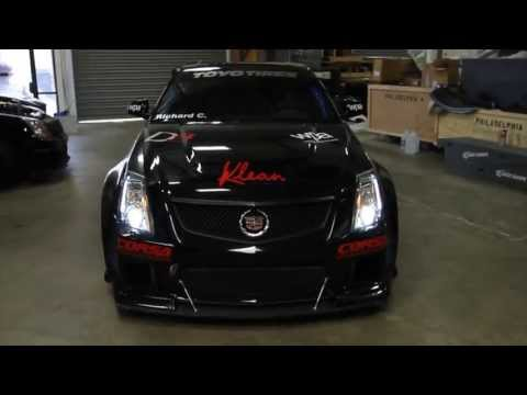 D3 Powered CTS-V Competition Widebody for WPA Motorsports