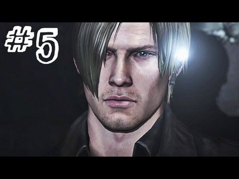 Resident Evil 6 Gameplay Walkthrough Part 5 - BAD DRIVERS - Leon / Helena Campaign Chapter 1 (RE6)