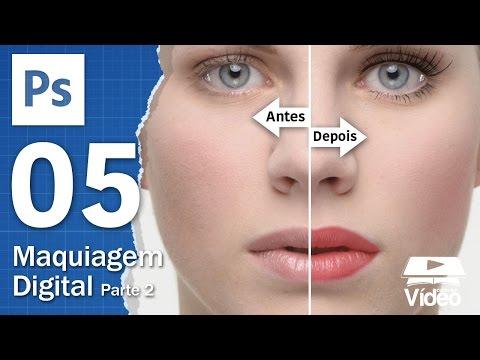 Maquiagem Digital com Photoshop - Parte 2 - Curso de Photoshop #05 - Gustavo Guanabara