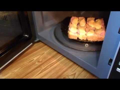 Как сделать вкусный бутерброд в микроволновке