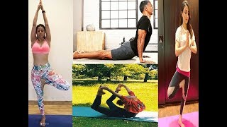 Bollywood celebs and their favourite yoga asanas - TIMESOFINDIACHANNEL