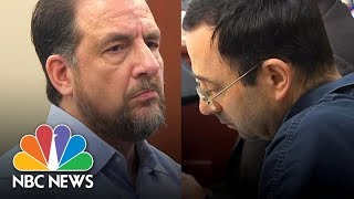 Former Gymnastics Coach Thomas Brennan Slams Larry Nassar For Sexual Abuse | NBC News - NBCNEWS
