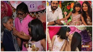 Bollywood biggies and their kids attend Aaradhya Bachchan's birthday party - INDIATV