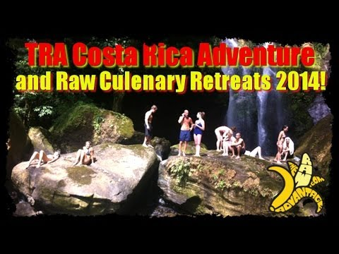TRA Raw Food, Yoga Adventure n Raw Chef Skills Retreats 2014
