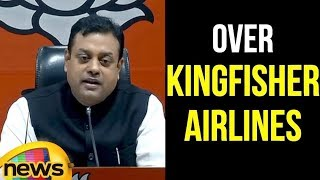 Sambit Patra Said Rahul Gandhi Has Gone On Back-Foot Over Kingfisher Airlines | Mango News - MANGONEWS