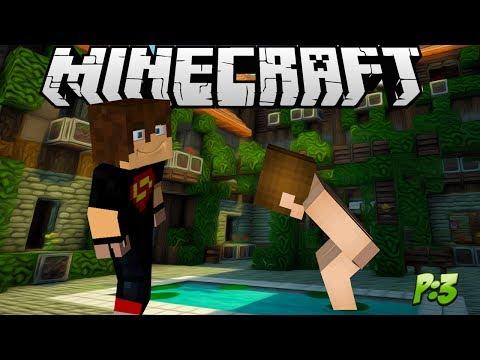 Minecraft:Desafio da Skin Pelada(Parte 3)