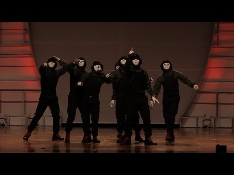 Behind the Mask: Jabbawockeez at Hip Hop International 2012