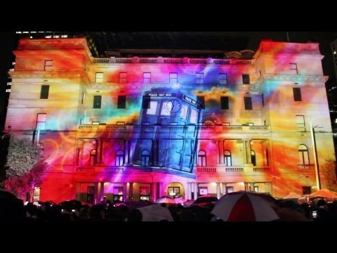 Behind the scenes on Doctor Who at Vivid Sydney - Doctor Who