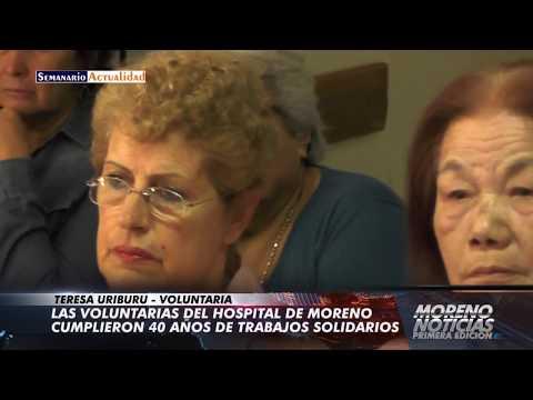 Las voluntarias del hospital de Moreno cumplieron 40 años de trabajo solidario