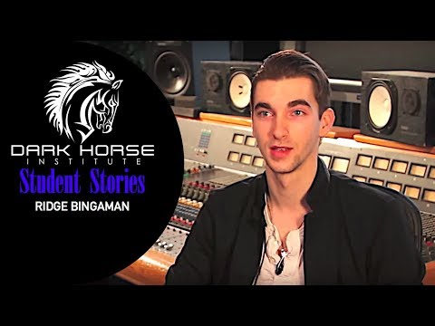 Ridge Bingaman: Student Testimonial - Dark Horse Institute - School of Audio Engineering