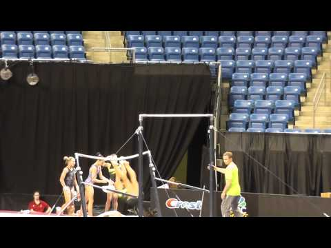 Nastia Liukin - Uneven Bars 2 - 2012 Visa Championships Podium Training