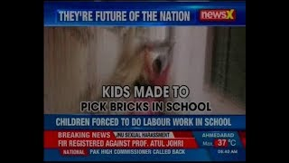 Uttar Pradesh: Children forced to do labour work in school in Ghaziabad - NEWSXLIVE