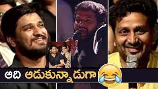 Jabardasth Hyper Aadi Hilarious Interaction With Celebrities | Super Fun | Meda Meeda Abbayi | TFPC - TFPC