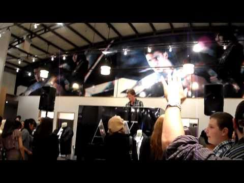 2010 Fashion s Night Out FNO NYC SoHo Armani Exchange DJ Fedde Le Grand