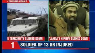 India strikes back: Terrorists killed in encounter; slain terrorist is Zakiur Lakhvi's nephew - NEWSXLIVE