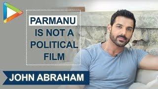 John Abraham REACTS on SUCCESS of Parmanu: The Story of Pokhran - HUNGAMA