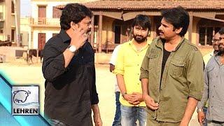 Chiranjeevi Meets Pawan Kalyan On The Sets Of Sardaar Gabbar Singh | Lehren Telugu - LEHRENTELUGU
