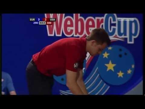 Mike Fagan v Mika Koivuneimi. Weber Cup 2011.