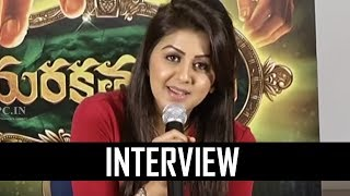 Actress Nikki Galrani Interacting With Media | Marakathamani | TFPC - TFPC