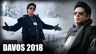 Jubilant Shah Rukh Khan Breaks Silence On Being Awarded At Davos 2018 - HUNGAMA
