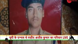 Pulwama terror attack: Family of martyred jawan Ajit Kumar speaks to Zee News - ZEENEWS