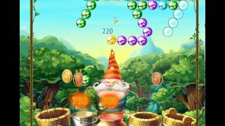 guide, tips, and cheats from Bubble and the Seven Dwarfs Level 7 in video