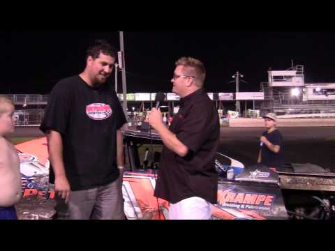 Kyle Krampe Modified Feature winner 08/09/14
