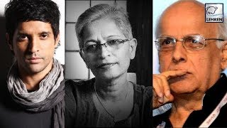 Celebrities React On Journalist Gauri Lankesh Tragedy | LehrenTV