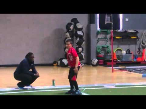 Anthony Rivera 10 Yrs old - Youth Baseball Strength & Agility Training