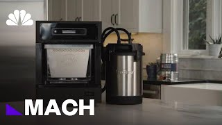 This Counter Top Device Could Make Home Brewing Easier And More Compact | Mach | NBC News - NBCNEWS