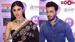 Bollywood Stars at Lions Gold Club Awards 2019 | Mouni Roy, Aayush Sharma, Warina Hussain & More - ZOOMDEKHO