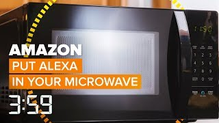 Yeah, Amazon even makes an Alexa-powered microwave now (The 3:59, Ep. 489) - CNETTV