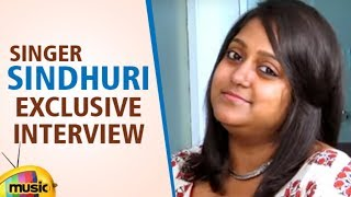 Singer Sindhuri Exclusive Interview | Singer Sindhuri  | Celebrities Exclusive Interviews - MANGOMUSIC
