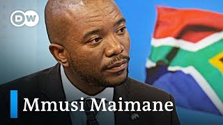Does South Africa have a corruption problem? | Mmusi Maimane interview - DEUTSCHEWELLEENGLISH