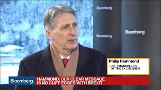 U.K.'s Philip Hammond on Brexit, Financial Services, and the Pound - BLOOMBERG