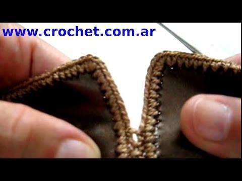 Unir piezas en tejido crochet